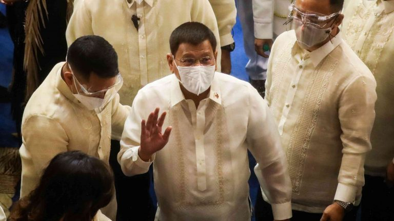 Duterte confirms he wants to serve as vice president for a month