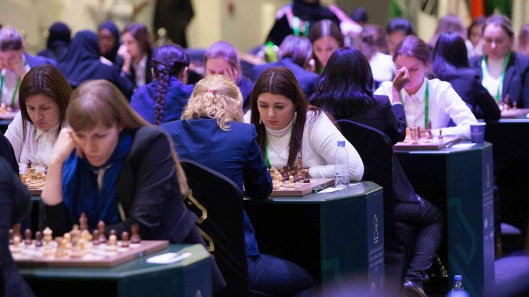 High-profile women's chess match ends in a draw