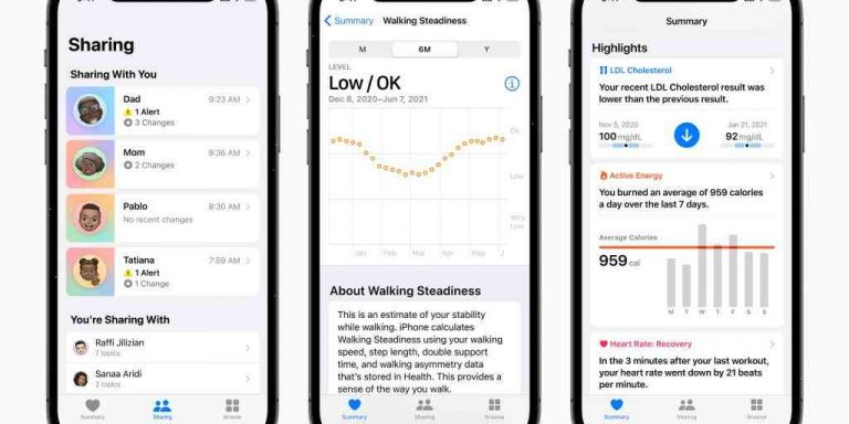 iOS 15: 7 ways to start fitting health into your life