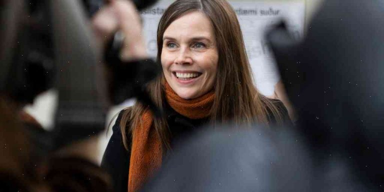 A first: Women win all seats in Iceland's Parliament