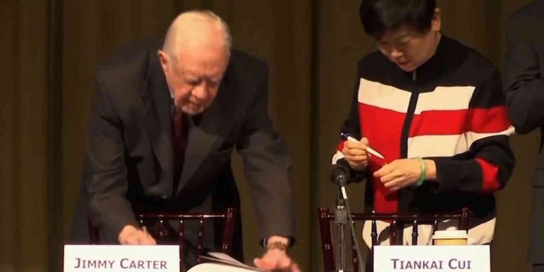 President Jimmy Carter: It Was A Very Smooth Ride